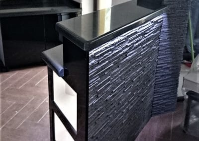 Blat kuchenny, bar granitowy DARK BENGAL BLACK – POLER