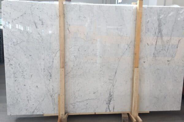 marmur bianco carrara C slab1